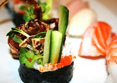 Spider Roll Lunch Combo